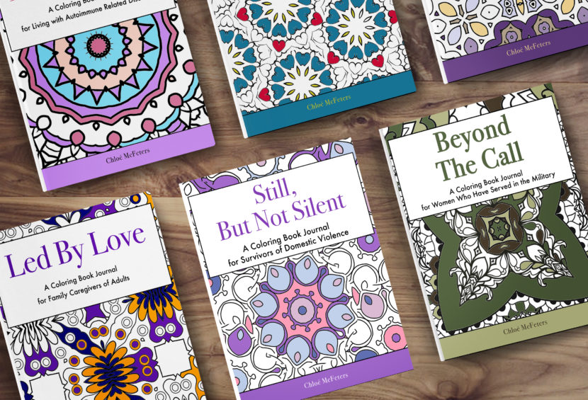 Still, But Not Silent: A Coloring Book Journal for Survivors of Domestic Violence