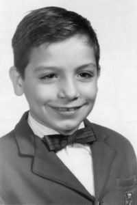 Frankie Imbergamo as a young boy.