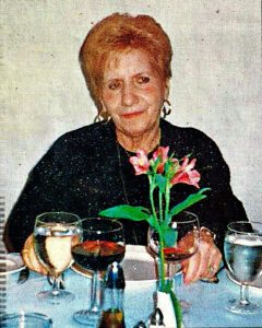 Mary Imbergamo mother of Chef and Actor Frank Imbergamo